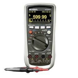 Digitálne/y ručný multimeter VOLTCRAFT VC890 OLED VC890 OLED-D, Kalibrované podľa (DAkkS), OLED displej, datalogger