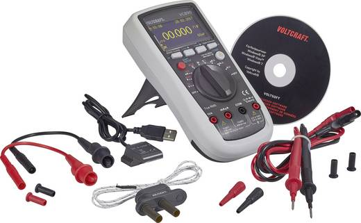 Hand-Multimeter digital VOLTCRAFT VC890 OLED Kalibriert nach: ISO OLED-Display, Datenlogger CAT III 1000 V, CAT IV 600 V