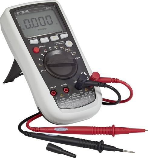 Hand-Multimeter digital VOLTCRAFT VC830 Kalibriert nach: ISO CAT III 1000 V, CAT IV 600 V Anzeige (Counts): 6000
