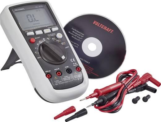 VOLTCRAFT VC830 Hand-Multimeter digital Kalibriert nach: ISO CAT III 1000 V, CAT IV 600 V Anzeige (Counts): 6000
