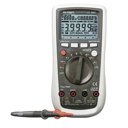 VOLTCRAFT VC880 Hand-Multimeter digital Kalibriert nach: DAkkS Datenlogger CAT III 1000 V, CAT IV 600 V Anzeige (Counts)