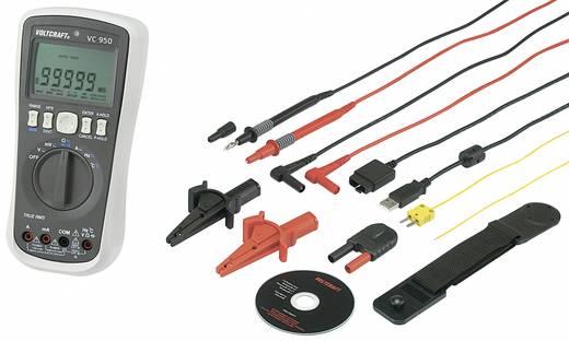 Hand-Multimeter, Stromzange digital VOLTCRAFT VC950+VC511 Kalibriert nach: Werksstandard (ohne Zertifikat) Datenlogger C