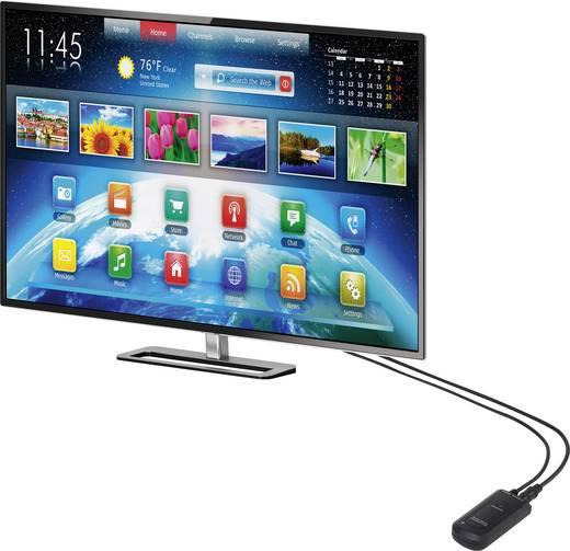 Renkforce BTX-1300 Bluetooth® Musik-Sender Klinke Bluetooth Version: 3.0 +EDR, SBC 10 m aptX®-Technologie