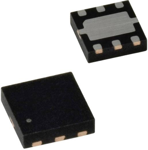 ON Semiconductor FDMB3800N MOSFET 2 N-Kanal 750 mW MLP-6
