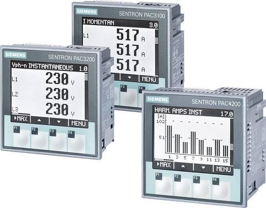 Siemens SENTRON PAC4200 Multifunktions-Messgerät SENTRON PAC4200 Max. 3 x 690/400 V/AC Einbaumaße 92 mm x 92 mm