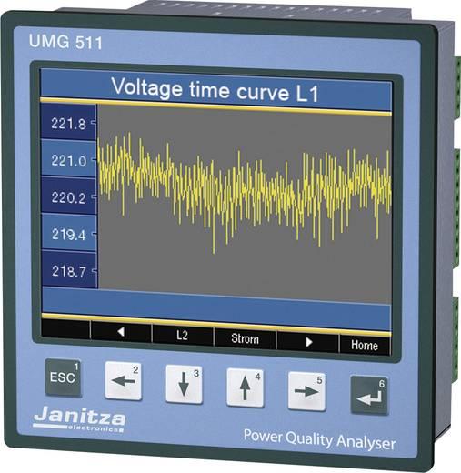Janitza UMG 511 Netz-Analysegerät, Netzanalysator, 5219001 CAT III 600 V Kalibriert nach DAkkS