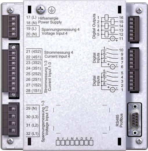 Janitza UMG 511 Netz-Analysegerät, Netzanalysator, 5219001 CAT III 600 V Kalibriert nach ISO