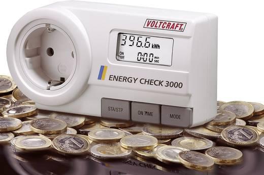 VOLTCRAFT Energy Check 3000 Energiekosten-Messgerät, Speicherfunktion mit Langzeitüberwachung LCD 0,001 - 9999 kWh 2376