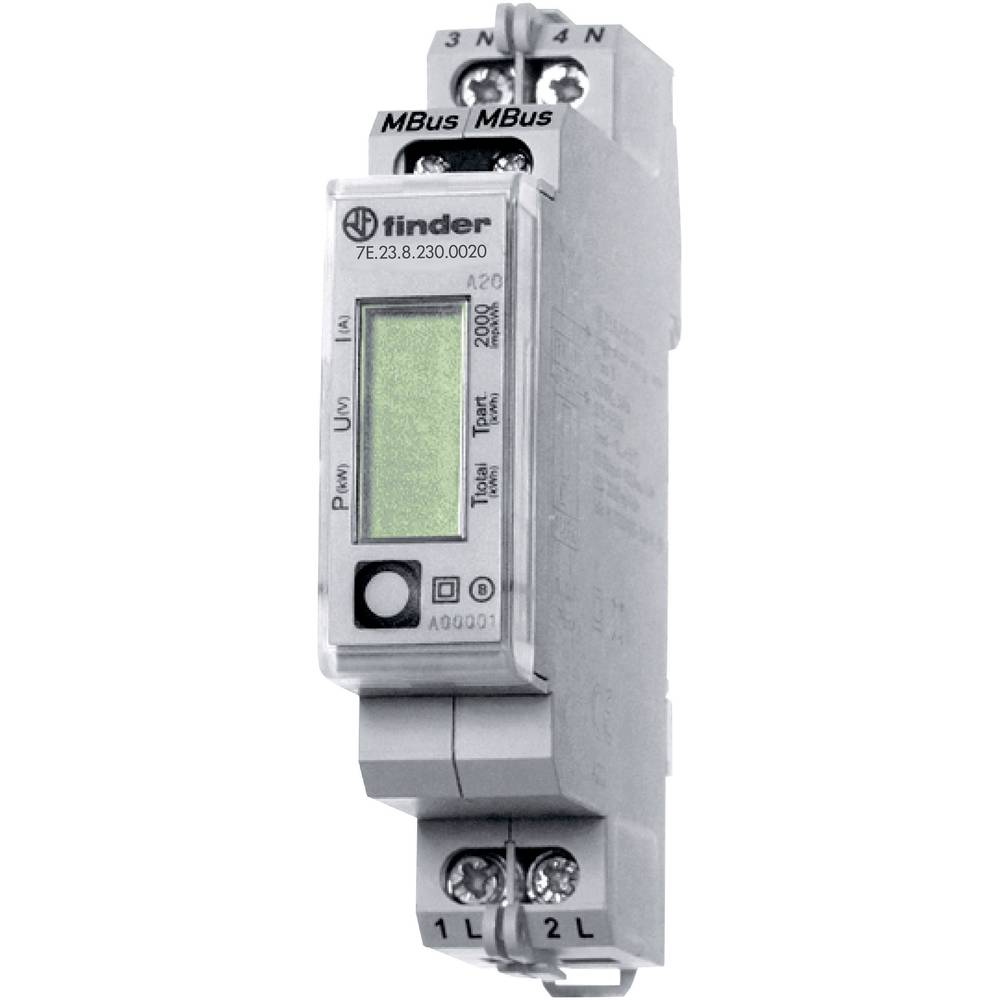 Electricity meter (AC) Digital 32 A MID-approved: No Finder