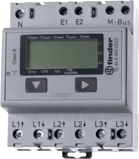 Finder 7E.46.8.400.0022 Drehstromzähler digital 65 A MID-konform: Nein