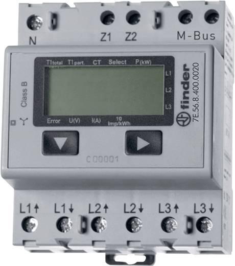 Finder 7E.56.8.400.0020 Drehstromzähler mit Wandleranschluss digital 5 A MID-konform: Nein