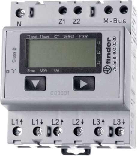 Drehstromzähler mit Wandleranschluss digital 5 A MID-konform: Ja Finder 7E.56.8.400.0030