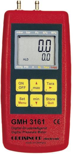 Druck-Messgerät Greisinger GMH 3161-07 Luftdruck, Nicht aggressive Gase, Korrosive Gase -0.01 - 0.350 bar Kalibriert na