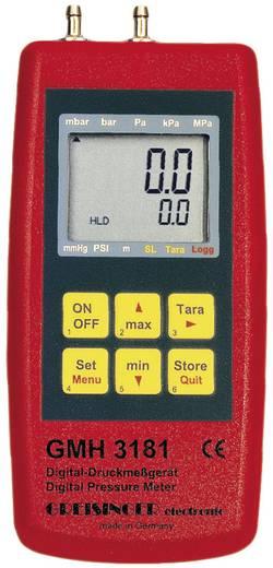 Druck-Messgerät Greisinger GMH 3181-07 Luftdruck, Nicht aggressive Gase, Korrosive Gase -0.01 - 0.350 bar Kalibriert na