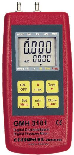 Druck-Messgerät Greisinger GMH 3181-13 Luftdruck, Nicht aggressive Gase, Korrosive Gase -0.1 - 2 bar Kalibriert nach DA