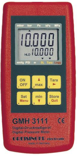 Druck-Messgerät Greisinger GMH 3111 Luftdruck 0.0025 - 1000 bar Kalibriert nach DAkkS