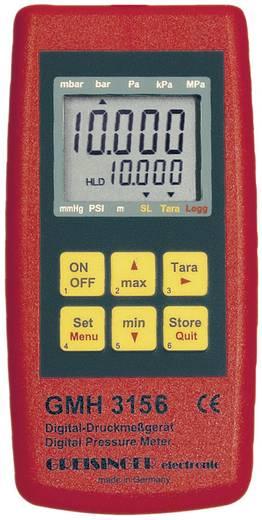 Druck-Messgerät Greisinger GMH 3156 Luftdruck, Flüssigkeiten 2.5 - 400 bar mit Datenloggerfunktion Kalibriert nach ISO