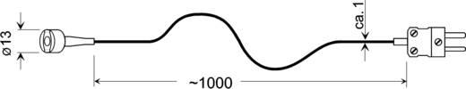 Oberflächenfühler Greisinger GMF 250 -65 bis 250 °C Fühler-Typ K Kalibriert nach Werksstandard (ohne Zertifikat)