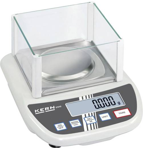 Kern Briefwaage Wägebereich (max.) 12 kg Ablesbarkeit 0.1 g netzbetrieben, batteriebetrieben Weiß Kalibriert nach ISO