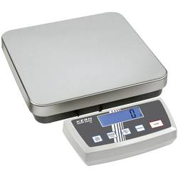 Poštovní váha Kern Max. váživost 6 kg Rozlišení 1 g, 2 g stříbrná