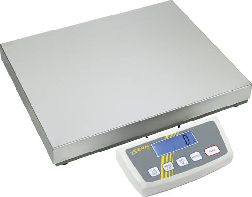 Plattformwaage Kern DE 300K50D Wägebereich (max.) 300 kg Ablesbarkeit 50 g, 100 g netzbetrieben, batteriebetrieben, akkubetrieben Silber
