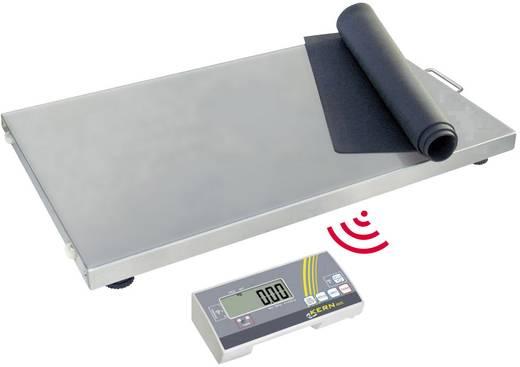 Plattformwaage Kern Wägebereich (max.) 150 kg Ablesbarkeit 50 g netzbetrieben, batteriebetrieben Silber