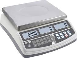 Počítací váha Kern max. váživost 15 kg rozlišení 0.2 g stříbrná