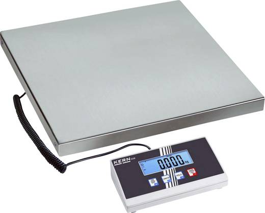 Paketwaage Kern Wägebereich (max.) 60 kg Ablesbarkeit 20 g netzbetrieben, batteriebetrieben Silber Kalibriert nach ISO