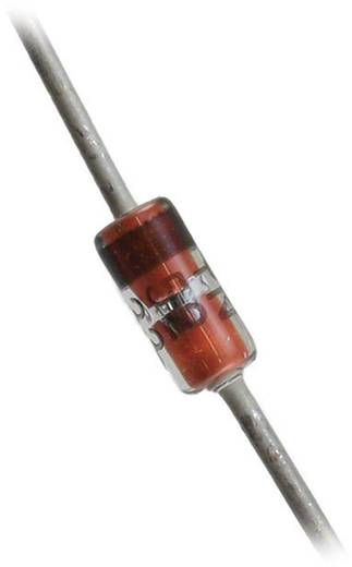 ON Semiconductor Z-Diode BZX79C24 Gehäuseart (Halbleiter) DO-35 Zener-Spannung 24 V Leistung (max) P(TOT) 500 mW