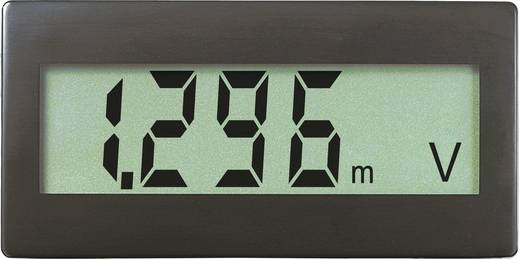 VOLTCRAFT DVM330G Digitales Einbaumessgerät, Panel-Meter Einbaumaße 68 x 33 mm