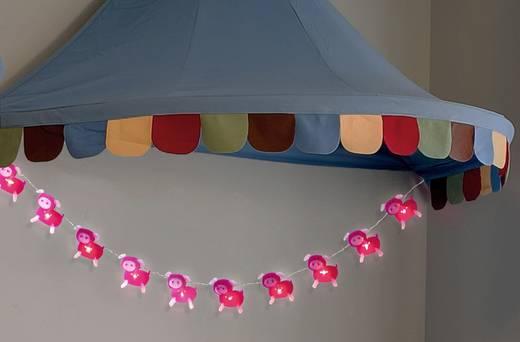 Motiv-Lichterkette Ferkel Innen netzbetrieben 10 LED Warm-Weiß 635 cm Polarlite LDC-30-004