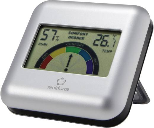 Renkforce Thermo-/Hygrometer Silber
