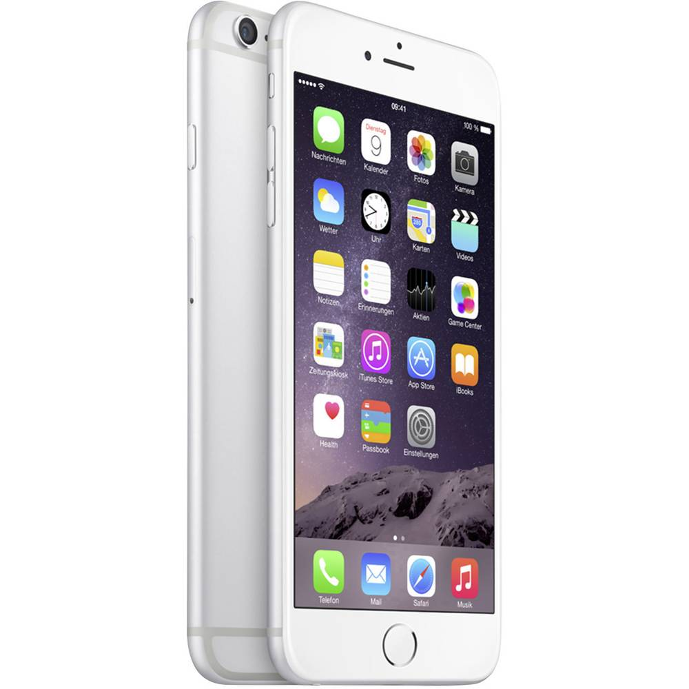 apple iphone 6 plus 64 gb silver from. Black Bedroom Furniture Sets. Home Design Ideas