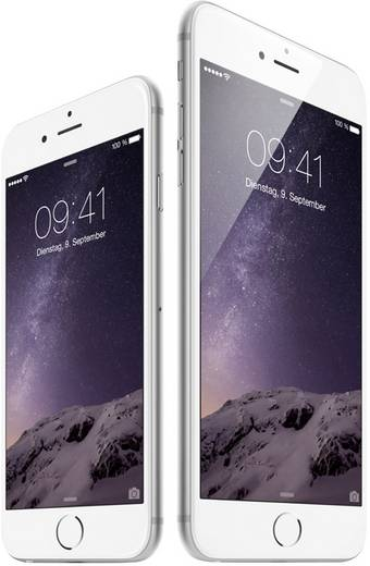 apple iphone 6 16 gb silber kaufen. Black Bedroom Furniture Sets. Home Design Ideas