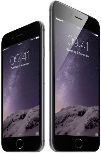 apple iphone 6 refurbished 11 9 cm 4 7 zoll 16 gb 8 mio. Black Bedroom Furniture Sets. Home Design Ideas