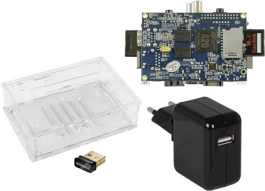 Allnet Banana Pi Starter Set WLAN 1 GB inkl. Gehäuse, inkl. Netzteil, inkl. WLAN-Stick BPI-M1