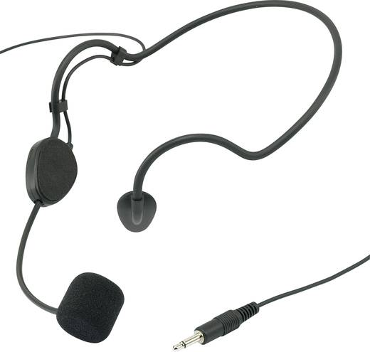 Headset Sprach-Mikrofon Renkforce CM518 Übertragungsart:Kabelgebunden inkl. Windschutz