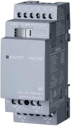 PLC rozšiřující modul Siemens LOGO! DM8 230R 0BA2 6ED1055-1FB00-0BA2, 115 V/AC, 230 V/AC, 115 V/DC, 230 V/DC