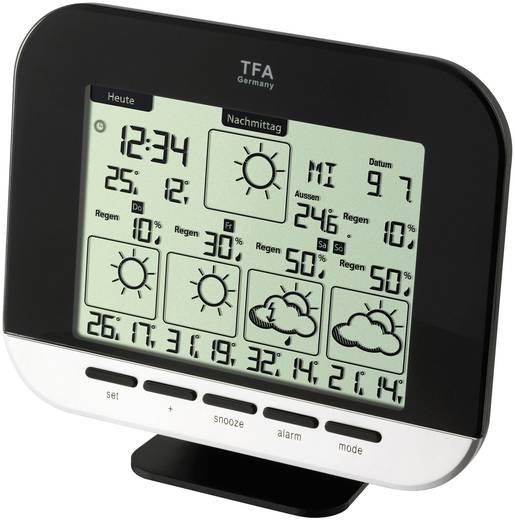 TFA Gala 35.5055.01 Satelliten Wetterstation Vorhersage für 5 Tage