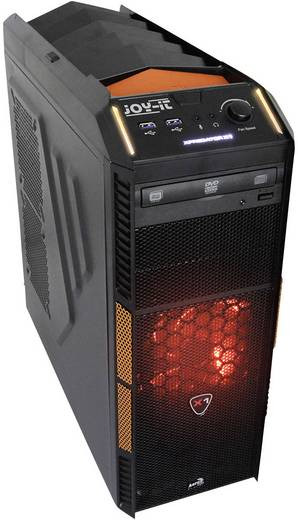 Joy-it Gaming PC AMD FX-4300 8 GB 1 TB 120 GB SSD Windows® 10 Home Nvidia GeForce GTX950