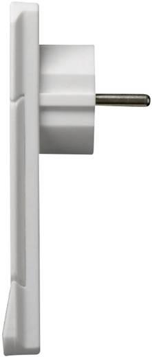 NVB 104553 Schutzkontakt-Flachstecker Kunststoff mit Aussteckhilfe 230 V Weiß IP20