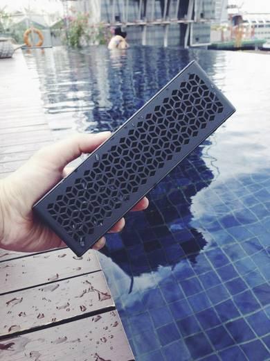 Bluetooth® Lautsprecher Creative Muvo Mini Freisprechfunktion, NFC, spritzwassergeschützt Blau