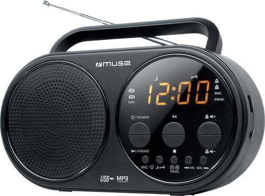 Muse M-088 R UKW Kofferradio AUX, MW, UKW, USB Schwarz