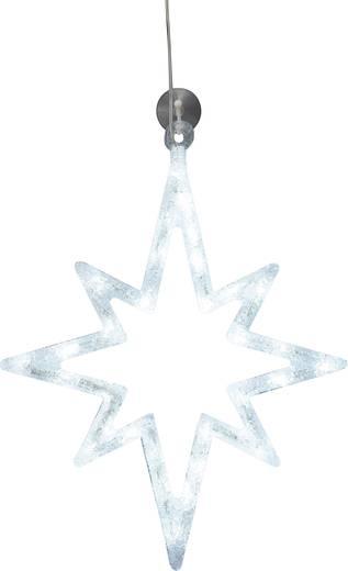 led weihnachtsdekoration stern wei led polarlite lde 02 010 wei kaufen. Black Bedroom Furniture Sets. Home Design Ideas