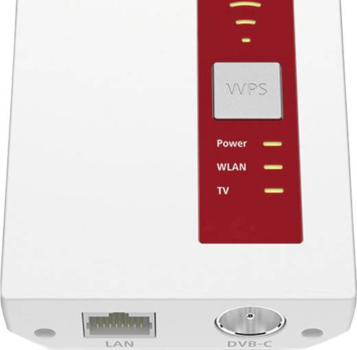 AVM FRITZ!WLAN Repeater DVB-C WLAN Repeater 1.75 GBit/s 2.4 GHz, 5 GHz