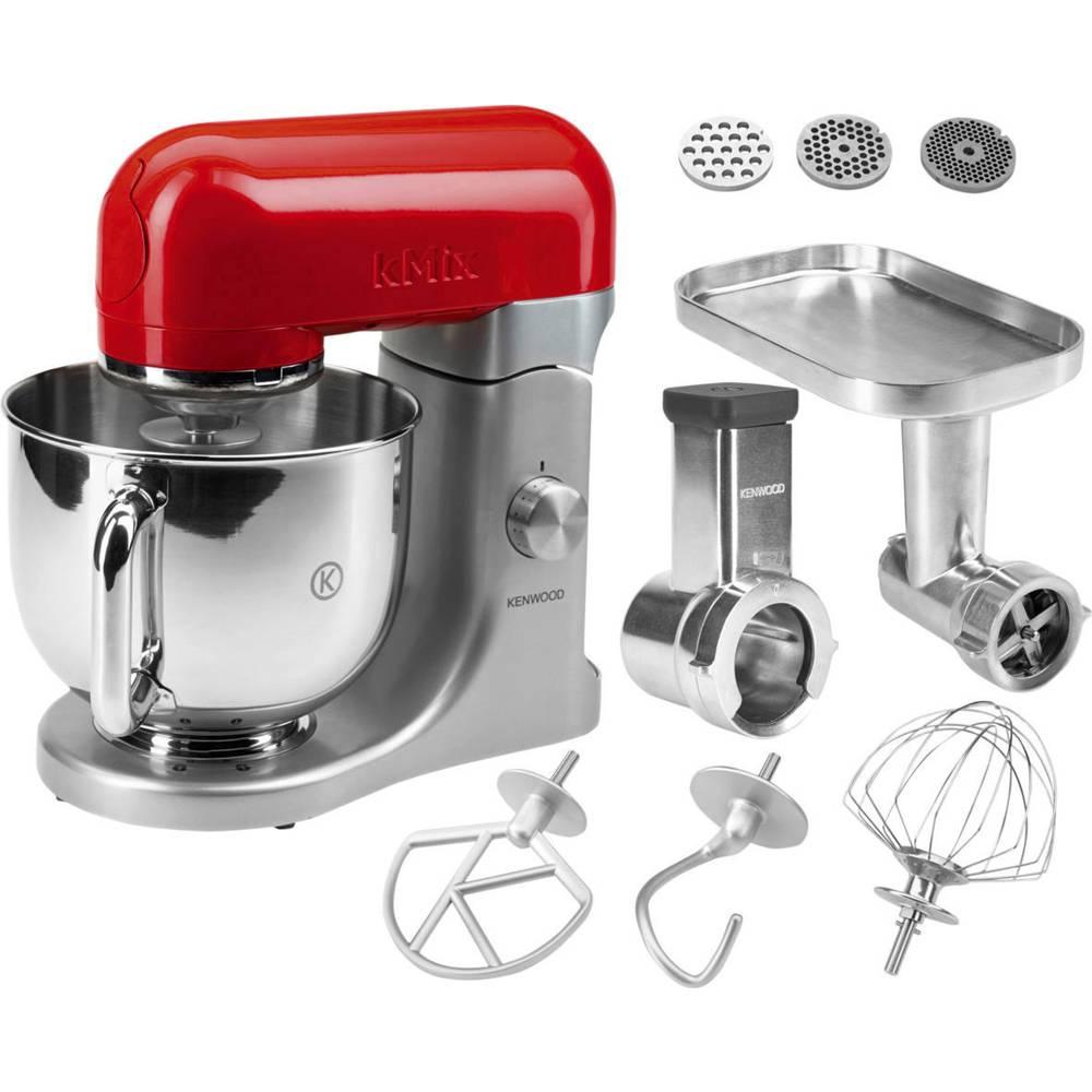 Robot da cucina kenwood home appliance kenwood kmx 61 500 w rosso argento in vendita online - Kenwood robot da cucina ...