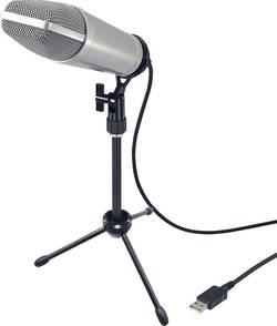 Profesionální USB studiový mikrofon Renkforce USB-S1