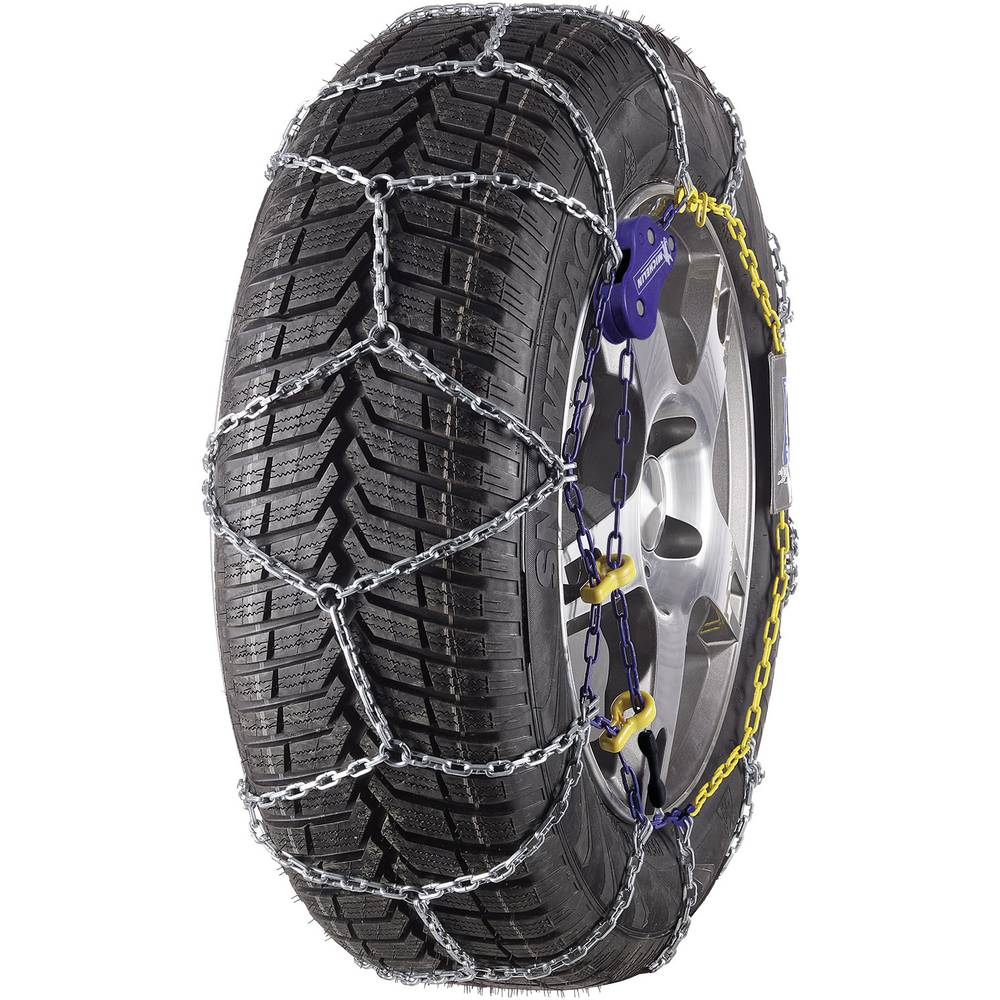 snow chain michelin m1 extrem grip 73 9 mm steel square links sn from. Black Bedroom Furniture Sets. Home Design Ideas