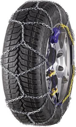 Oceľová štvorhranná reťaz na kolesá, 9 mm Michelin M1 Extrem Grip 73