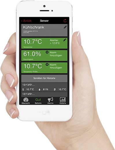 Techno Line Mobile Alerts MA10001 Starter Set Mobile Alerts MA 10001 + Gateway Funk-Thermometer
